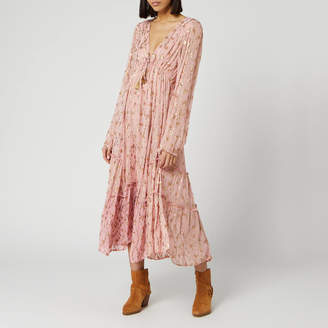 Free People Women's Celina Maxi Dress - Pink - XS