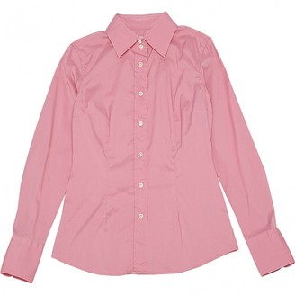 Mauro Grifoni Pink Cotton Tops