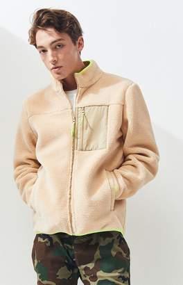Pacsun PacSun Sherpa Zip Jacket