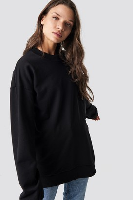 NA-KD Unisex Sweatshirt Black