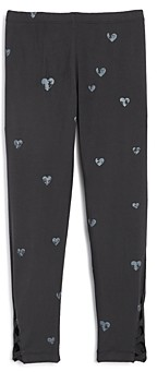 Flowers by Zoe Girls' Heart Leggings - Big Kid