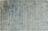 "One Kings Lane Bardia Hemp Rug - Teal - 2'6""x8'"