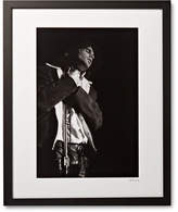 Sonic Editions Framed Jim Morrison, San Francisco Print, 17 X 21 - Black