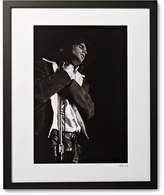 Sonic Editions Framed Jim Morrison, San Francisco Print, 17 X 21