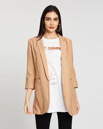 Missguided Co-Ord Price Point Basic Blazer