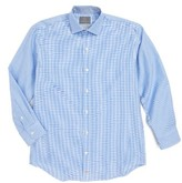 Thomas Dean Boy's Mini Check Dress Shirt