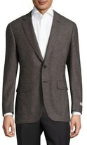 Canali Textured Wool Jacket