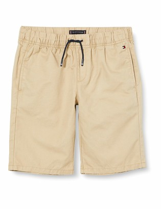 Tommy Hilfiger Boy's Pull ON Cotton Linen Short
