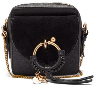 See by Chloe Joan Square Leather Cross-body Bag - Womens - Black