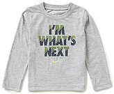 Nike Little Boys 2T-7 I'm What's Next Long-Sleeve Shirt