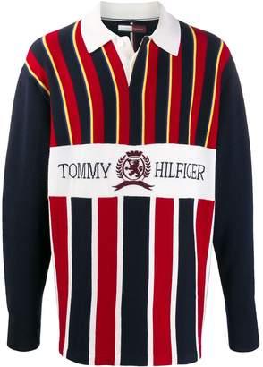 Tommy Hilfiger Crest Logo Rugby Knit