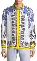 Versace Olympiad Silk Shirt