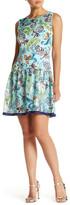 Anna Sui Pineapple Print Combo Dress