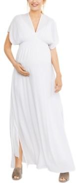 A Pea in the Pod Splendid Maternity Smocked Maxi Dress