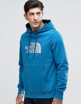 The North Face Hoodie With TNF Logo In Blue