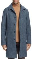 Billy Reid Rowan Linen & Cashmere Trench Coat