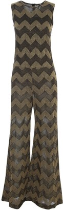 M Missoni Jumpsuit W/s Crew Neck W/straight Pants