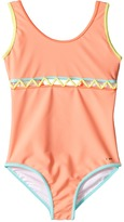 Chloe Kids - Lining Detail One-Piece Swimsuit Girl's Swimsuits One Piece