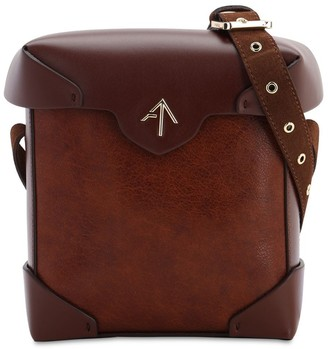 Atelier Manu MINI PRISTINE LEATHER SHOULDER BAG
