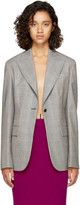 Calvin Klein Grey Glen Check Blazer