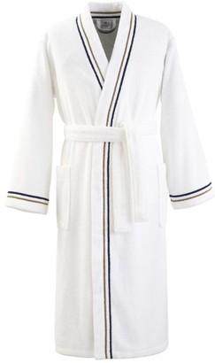 Yves Delorme Escale Men's Kimono Robe (Extra Large)