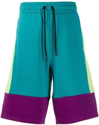 Fila colour block shorts