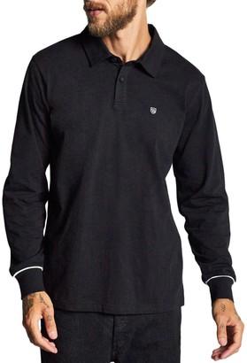 Brixton Carlos Knit Long-Sleeve Polo Shirt - Men's