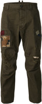 DSQUARED2 distressed Hiking trousers - men - Cotton - 46