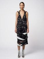 Proenza Schouler Sleeveless V-Neck Dress With Bands