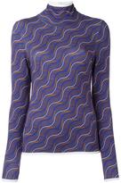Aalto fine knit top - women - Viscose/Spandex/Elastane - 40