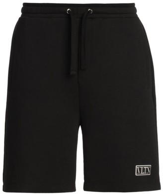 Valentino Logo Bermuda Shorts