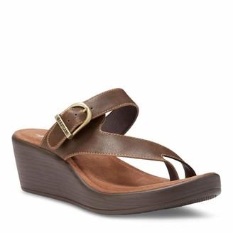 Eastland Women's Kay Wedge Thong Sandal
