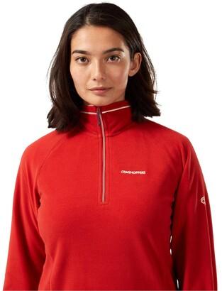Craghoppers Miska Half Zip Fleece Top - Red