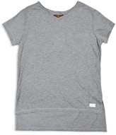 7 For All Mankind Girls' High Low Tee - Big Kid