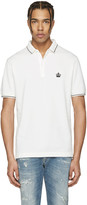 Dolce & Gabbana Off-White Crown Polo