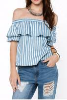 Everly Sarah Stripe Top