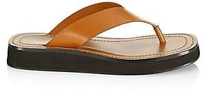The Row Women's Ginza Flat Leather Thong Sandals