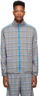 Landlord Multicolor Plaid Track Jacket