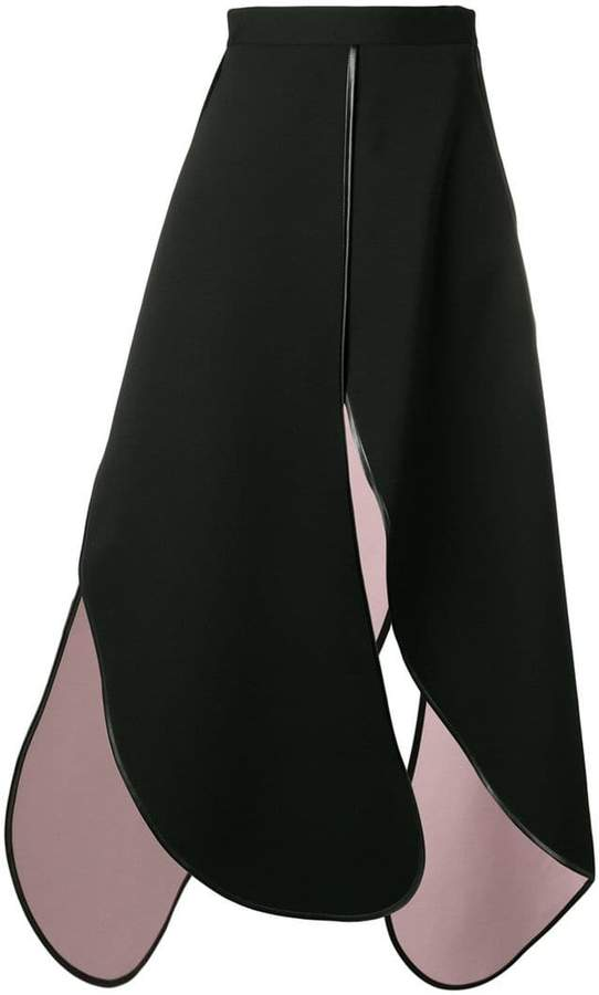 Y - Project black long length skirt