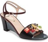 Fendi Stud Fantasia Sandal (Women)