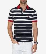 Nautica Classic-Fit Striped Short-Sleeve Polo Shirt