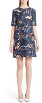 Marni Paisley Silk Shift Dress