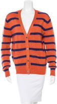 Markus Lupfer Striped Wool Cardigan