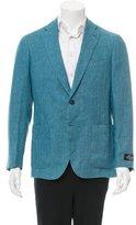 Belvest Linen Two-Button Blazer w/ Tags