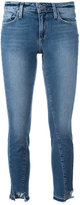 Paige skinny cropped jeans