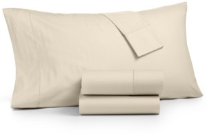 Martha Stewart Collection 4-Pc. Full Sheet Set, 400 Thread Count 100% Cotton Percale, Created for Macy's Bedding