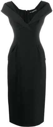 Ermanno Scervino Fitted Cocktail Dress
