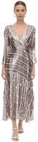 Thumbnail for your product : Rixo Sequined Viscose Chiffon Midi Dress