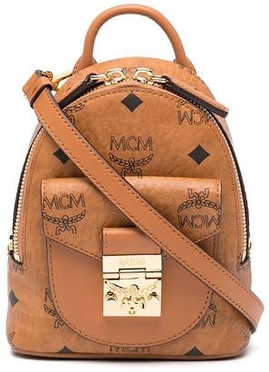 MCM mini Patricia cross body bag