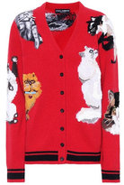 Dolce & Gabbana Wool, mohair and cashmere cardigan